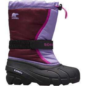 Sorel Flurry Stiefel Jugend purple dahlia/paisley purple